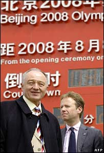 Ken Livingstone in Beijing