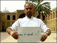Baghdad blogger Salam Pax