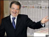 Romani Prodi casting vote