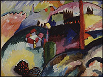 Landscape with Factory Chimney 1910, Guggenheim Museum, copyright ADAGP, Paris and DACS, London 2006