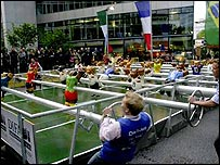 Table football in Berlin