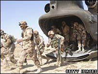 US troops in Samarra, Iraq