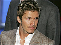 England skipper David Beckham