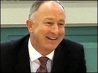 Irish Foreign Minister Dermot Ahern