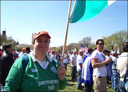 Lisa O'Reilly, de Irlanda
