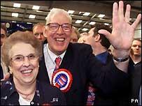 Eileen and Ian Paisley