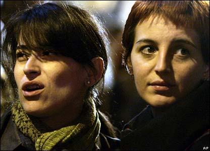 Prodi supporters
