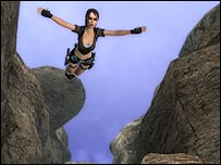 Screen shot of Tomb Raider: Legend