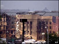 The Pentagon following the attack