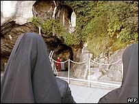 Nuns at Lourdes