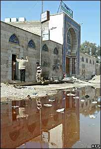 The Baratha mosque, Baghdad