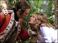 Jack Davenport and Romolo Garai in The Incredible Journey of Mary Bryant