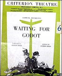 Waiting for Godot programme