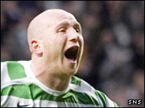 Celtic striker John Hartson