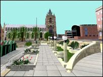 Norwich memorial garden design