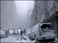 11 September 2001 attack in New York (AP)