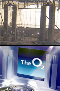 The O2 arena stage