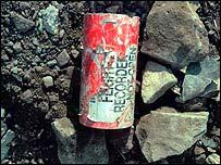 Flight 93 flight recorder found at crash site