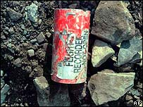 Flight 93 flight recorder found at crash site