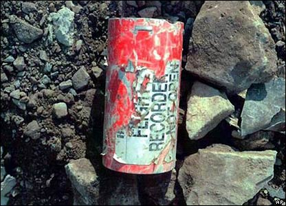 Flight 93 data recorder found at crash site