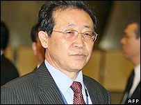 North Korea's nuclear negotiator Kim Kye Gwan