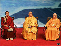 Buddhists at the World Buddhist Forum in China