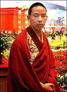 China's chosen Panchen Lama, Gyaltsen Norbu