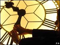 Clock at Greenwich, PA