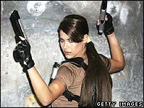 Lara Croft model Karima Adebibe