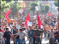 Protests in Pokhara