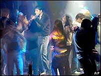 A discotheque in Delhi