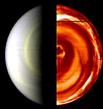 Venus   Image: ESA/INAF-IASF, Rome, Italy, and Observatoire de Paris, France