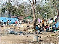 Government-run camp in Chhattisgarh's Dantewara district