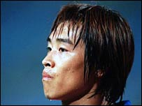 South Korea striker Lee Dong-Gook