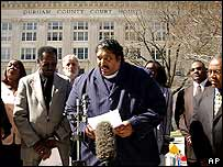 William Barber, head of the North Carolina branch of the National Association for the Advancement of Coloured People (Naacp)