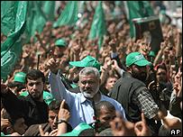 Palestinian PM Ismail Haniya
