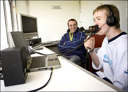 A young YG participant gets into the commentating in Sheffield