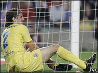 Barcelona-Villarreal. Gonzalo Rodr�guez.