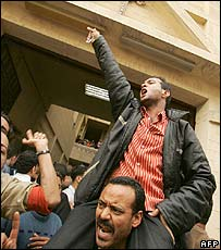 Copts protest in Egypt