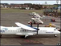 Aer Arann plane