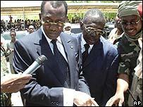 Presidente de Chad Idriss Deby