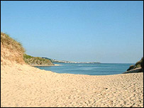 Hayle beach: Pic Mervyn Sullivan