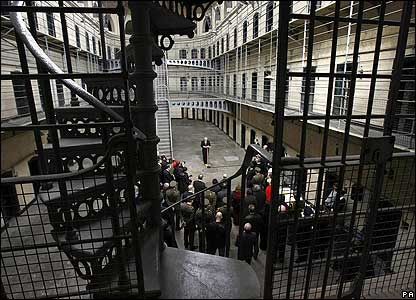 Service at Kilmainham Jail