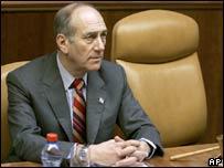 Acting PM Ehud Olmert