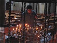 Iglesia cristiana en Egipto.