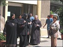 Cristianos en Egipto.