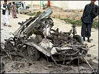 Car bomb attack in southern Afghanistan