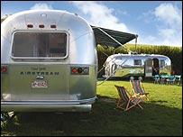Airstream trailer in Isle of Wight