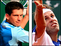 Tim Henman and Greg Rusedski could not find their form in Monaco