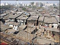 Asia's largest slum, Dharavi, in Mumbai